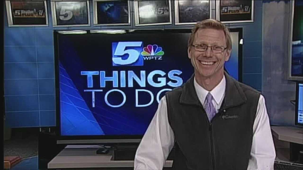 Feline Festivities going on today with a high fashion cat show. Tom Messner has your things to do today.