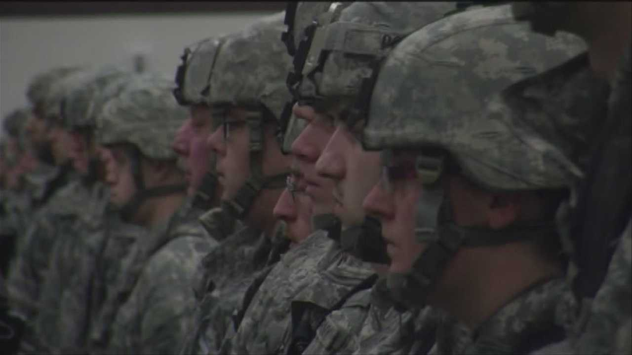 "The Army presented about 600 members of the Vermont National Guard with a unit award Sunday for ""extraordinary heroism in military operators against an armed energy."" The day was extra special for a medic who also received a bronze star for valor."