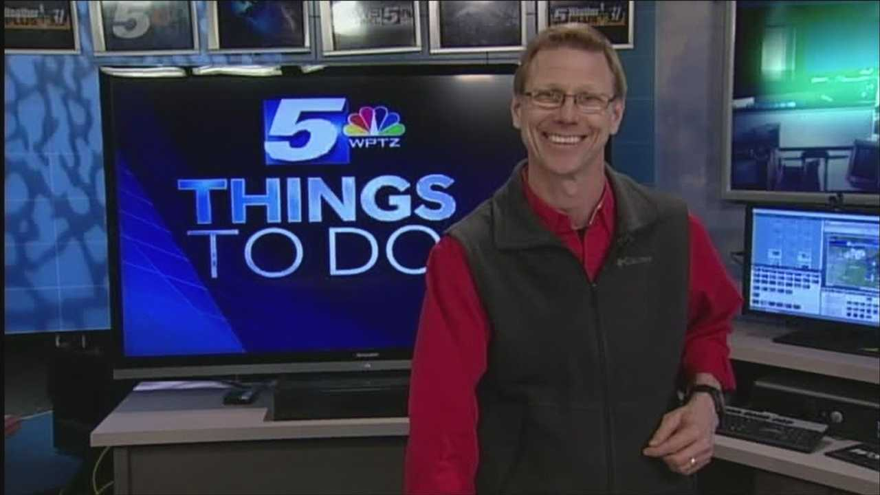From ice fishing to a wind ensemble, Tom Messner has the details of what things are going on this Saturday.