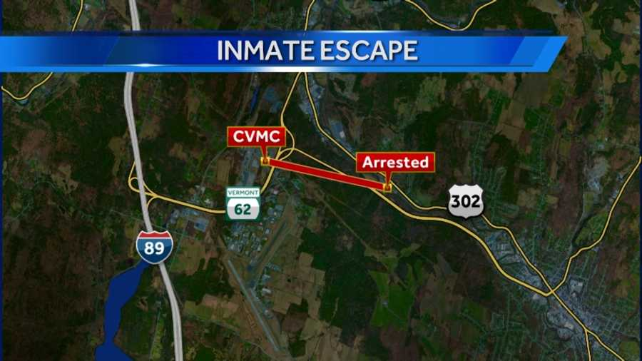 Henry fled from Central Vermont Medical Center in Berlin, police say. He was caught under a mile away near Route 302.