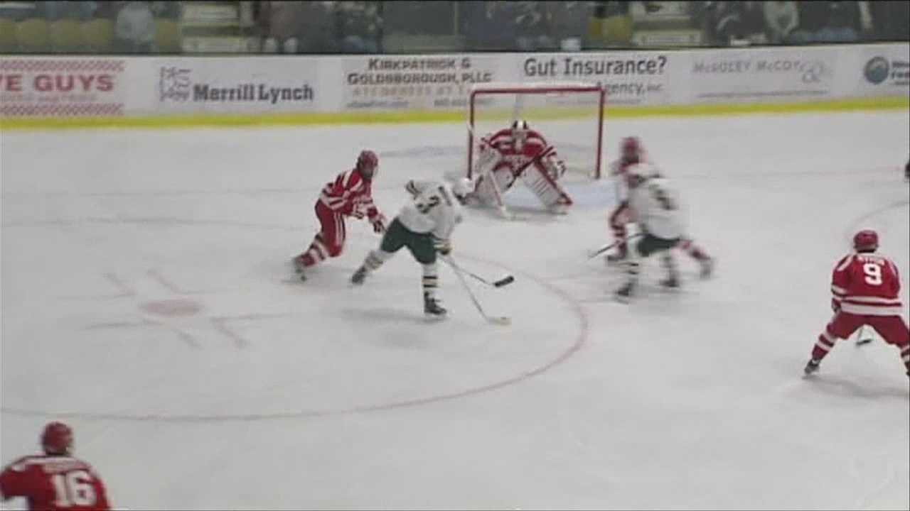 UVM's, Chris McCarthy, goes for 100 career points this weekend.