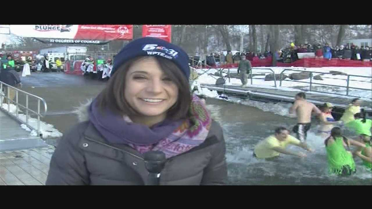 An event to benefit the Special Olympics. WPTZ's Vanessa Miscagnia was in Burlington at the Polar Plunge.