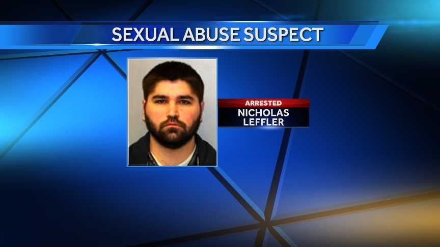 Nicholas Leffler, 24, of Malone, was arrested Tuesday by New York State Police on a single sexual abuse. Leffler is accused of having forced a 19-year-old woman into sexual contact.