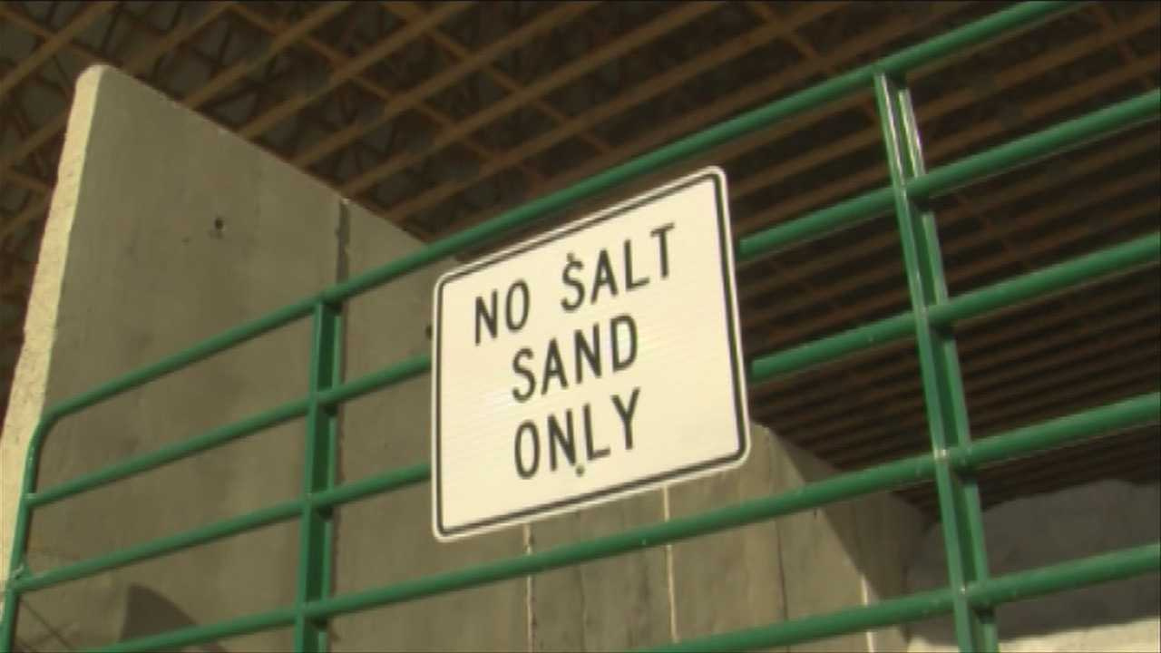 Town increases annual budget for more salt and sand