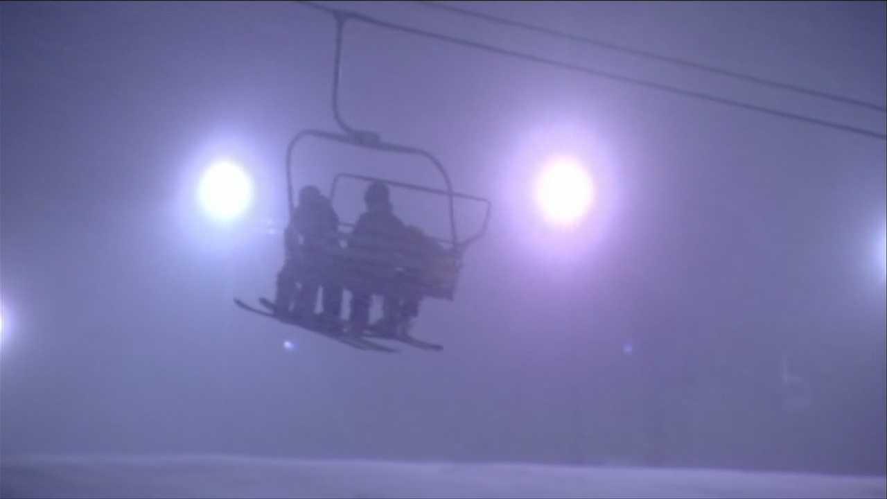 Ski resorts look forward to holiday weekend