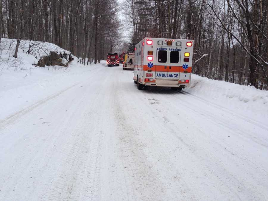 An Essex, Vt. home was destroyed after a second fire broke out 24 hours after the first.