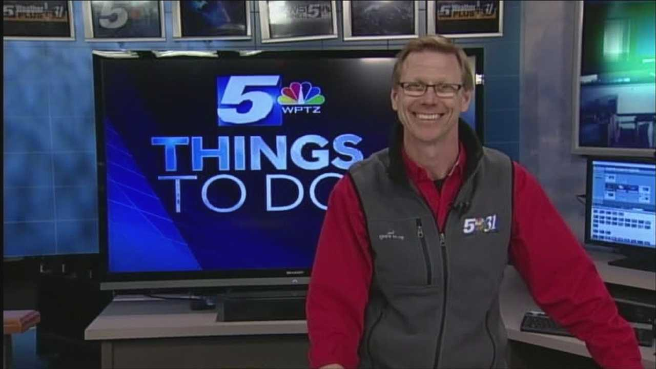 There are a lot of winter celebrations Saturday as the Olympics head into their final weekend. WPTZ's Tom Messner has your things to do today.