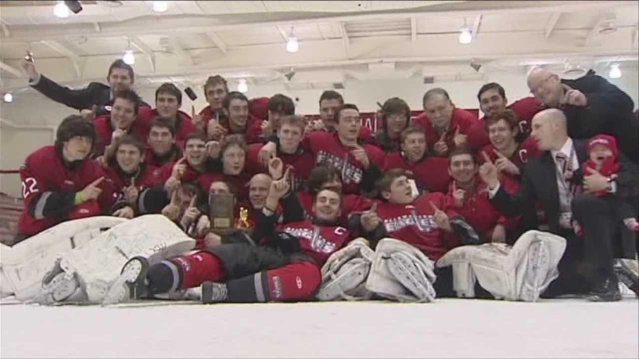 Beekmantown boy's hockey showdown with top ranked Lake Placid