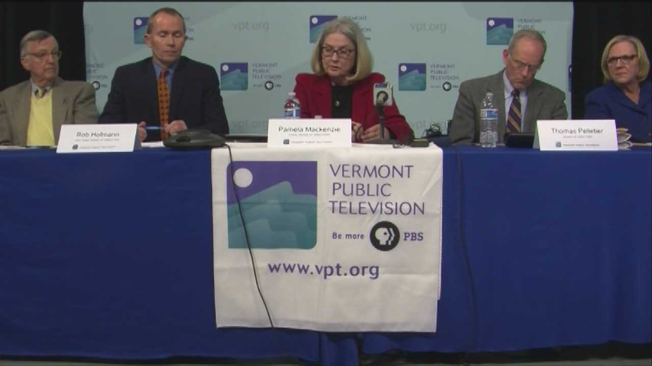 Vermont Public Television's Board of Directors says a committee found the panel violated public meeting law 26 times between July 2011 and December 2013.