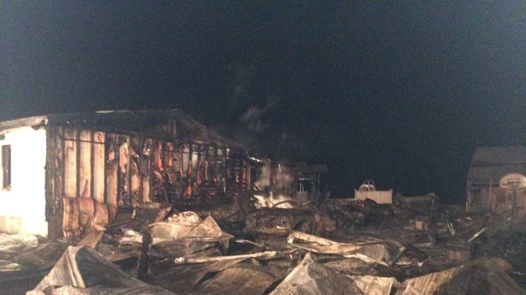 2-27-14 Fire destoys home, displaces 6 - img