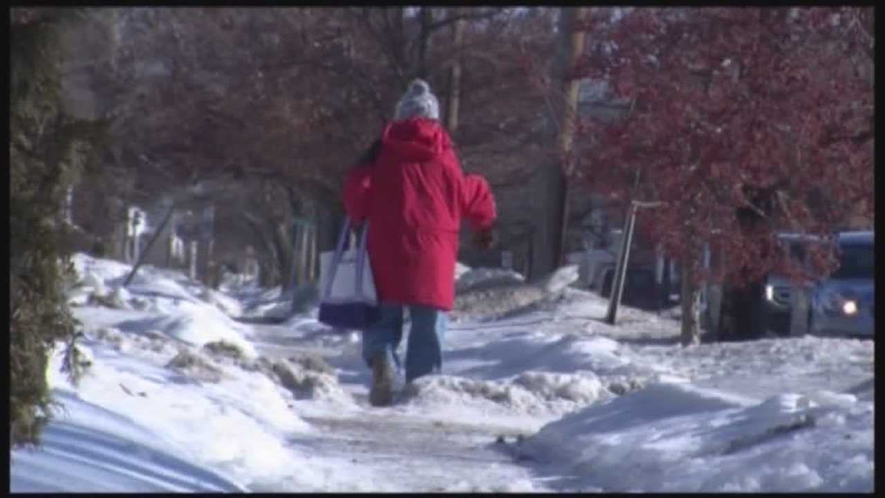 Property owners charged for not shoveling