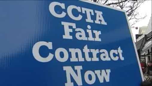 Alternate transportation in midst of CCTA strike