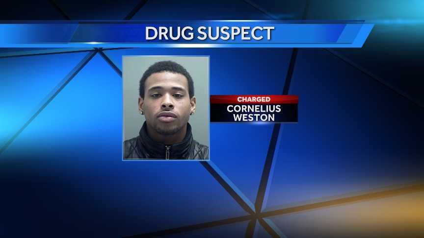 Plattsburgh Police arrested 23-year-old Cornelius Weston of Utica on March 19, 2014 on charges of possessing heroin with intent to sell.