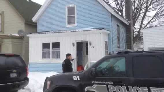 Police in New York arrested a Malone man Friday during a drug roundup.