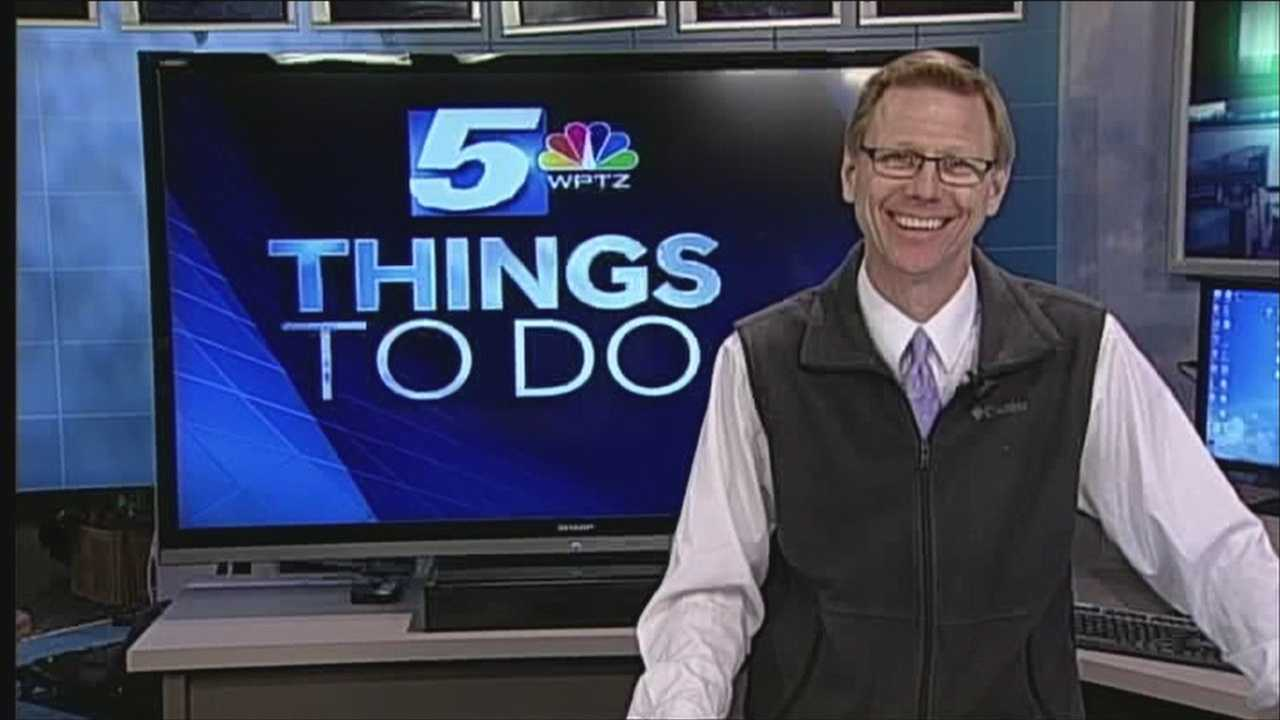 Not sure what to do this Saturday?  Need help planning your wedding or do you like team problem solving challenges? WPTZ's Tom Messner has your things to do today.
