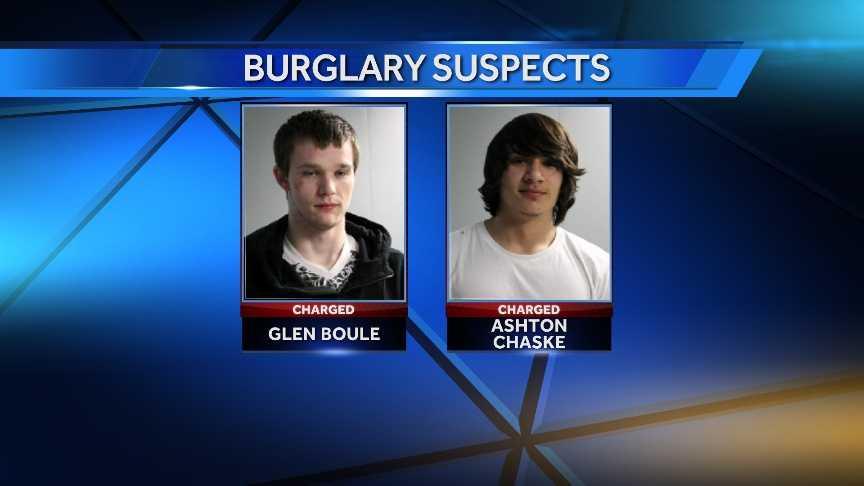 Newport burglary suspects