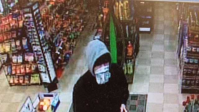 Man suspected on robbing a Richmond convenience store on Tuesday night.