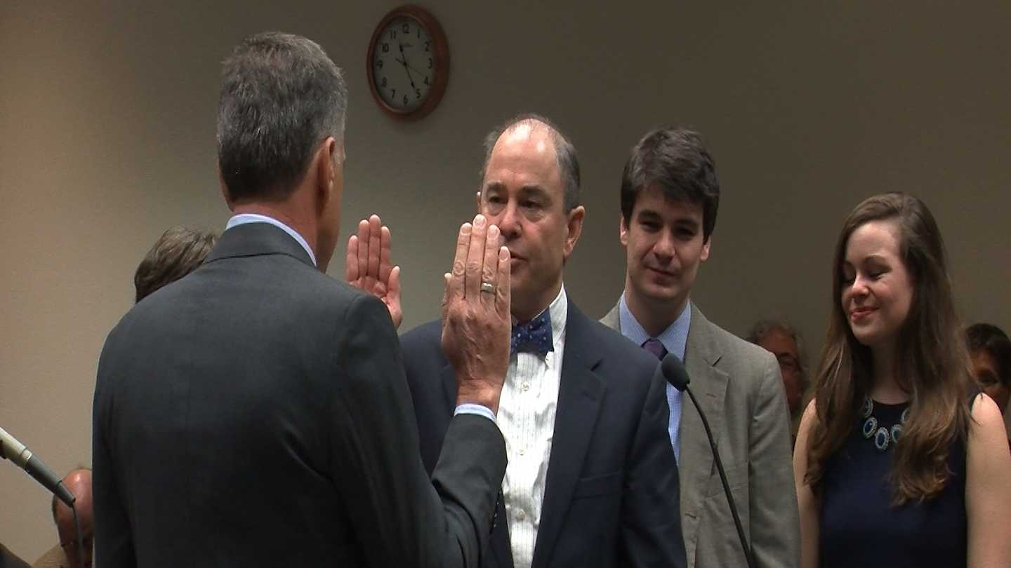 The Vermont Judicial System welcomes a new man on the bench.