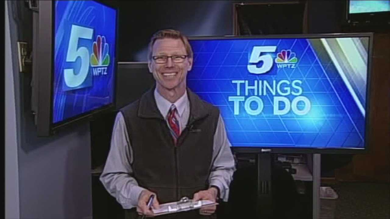 WPTZ's Tom Messner has your Sunday things to do.