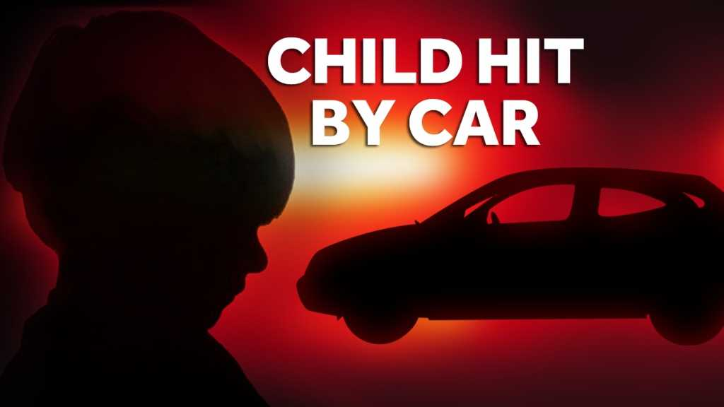 4-1-14 Child, 2, hit by car - img