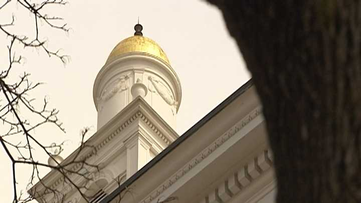Burlington leaders say they'll be installing a surveillance system outside and inside City Hall.