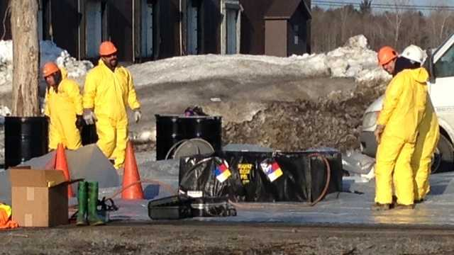 4-2-14 Crews respond to incident at champlain port of entry -- img