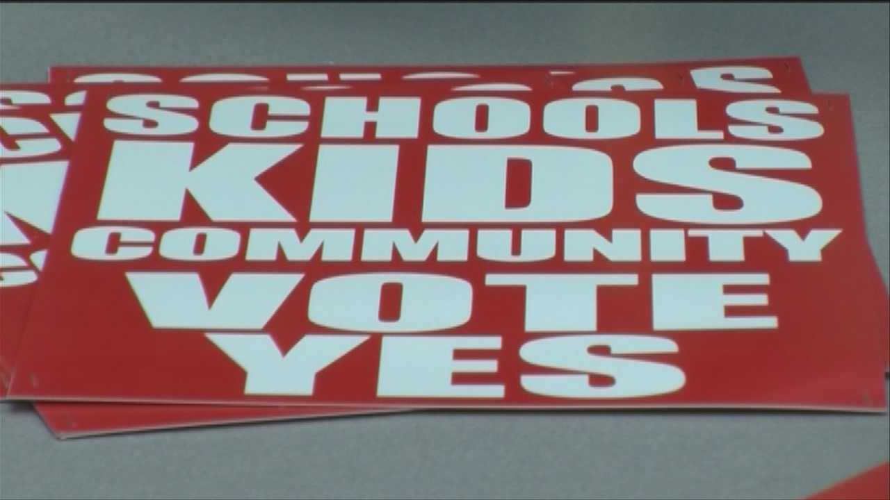 A group of Burlington parents, teachers and students is organizing to make sure a second school budget passes.
