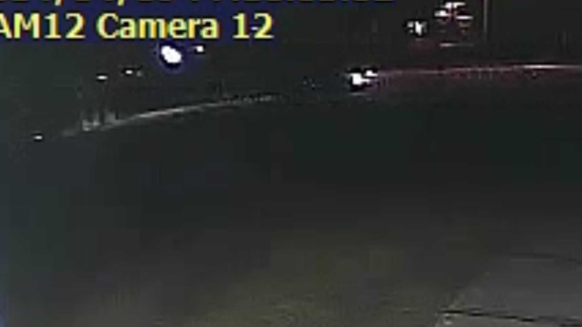 RAW VIDEO: Truck slams into fence, hydrant