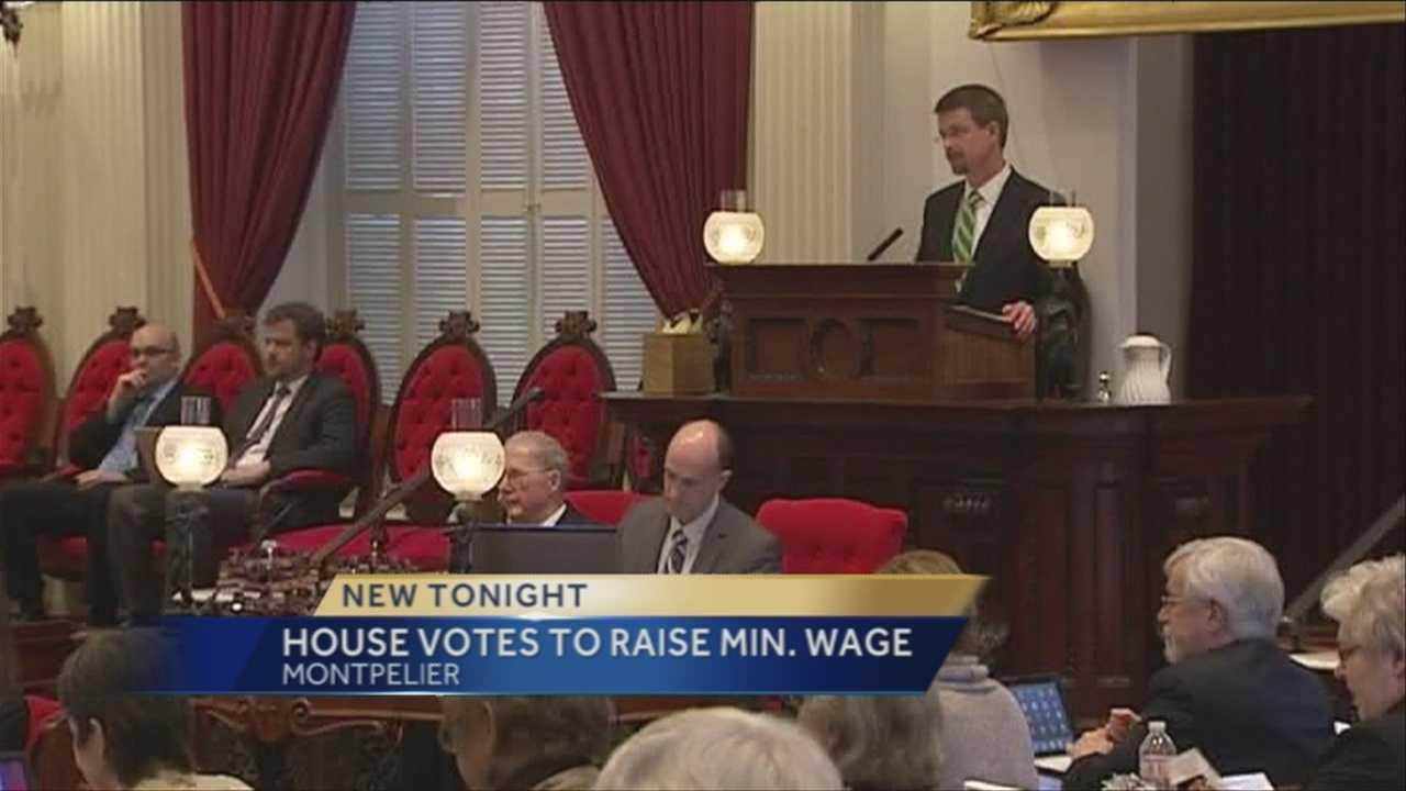 House votes to raise minimum wage