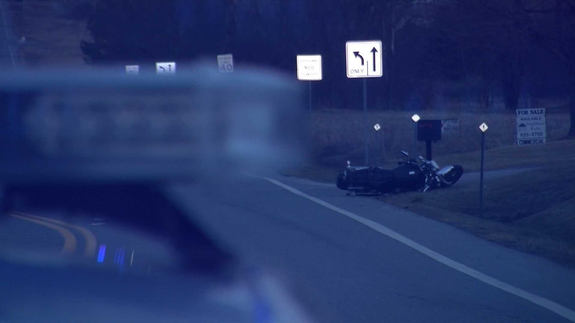 4-13-14 Man hurt in motorcycle crash - img