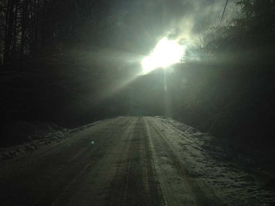 Elmore Mountain Rd., Vt.