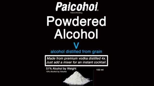 Powdered alcohol Palcohol