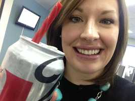 Bridget says: I try not to drink much pop (yes, I said pop not soda :) but when I do, the only thing that makes a Diet Coke better is a Twizzler straw in my book. Don't judge.