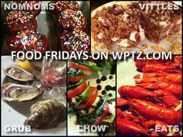 We love food… shopping for it, cooking it, eating and tasting it. We love everything about food. For us, food is an experience that needs to be shared. So every Friday we're going to share photos of our food with you, our viewers. Bon appetit.