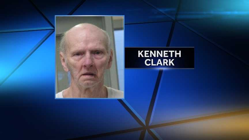 Kenneth Clark, 71, of Hinesburg, pleaded not guilty Friday to charges that he shot a relative and assaulted another Thursday night.