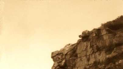 New Hampshire's Old Man of the Mountain landmark was first recognized in 1805