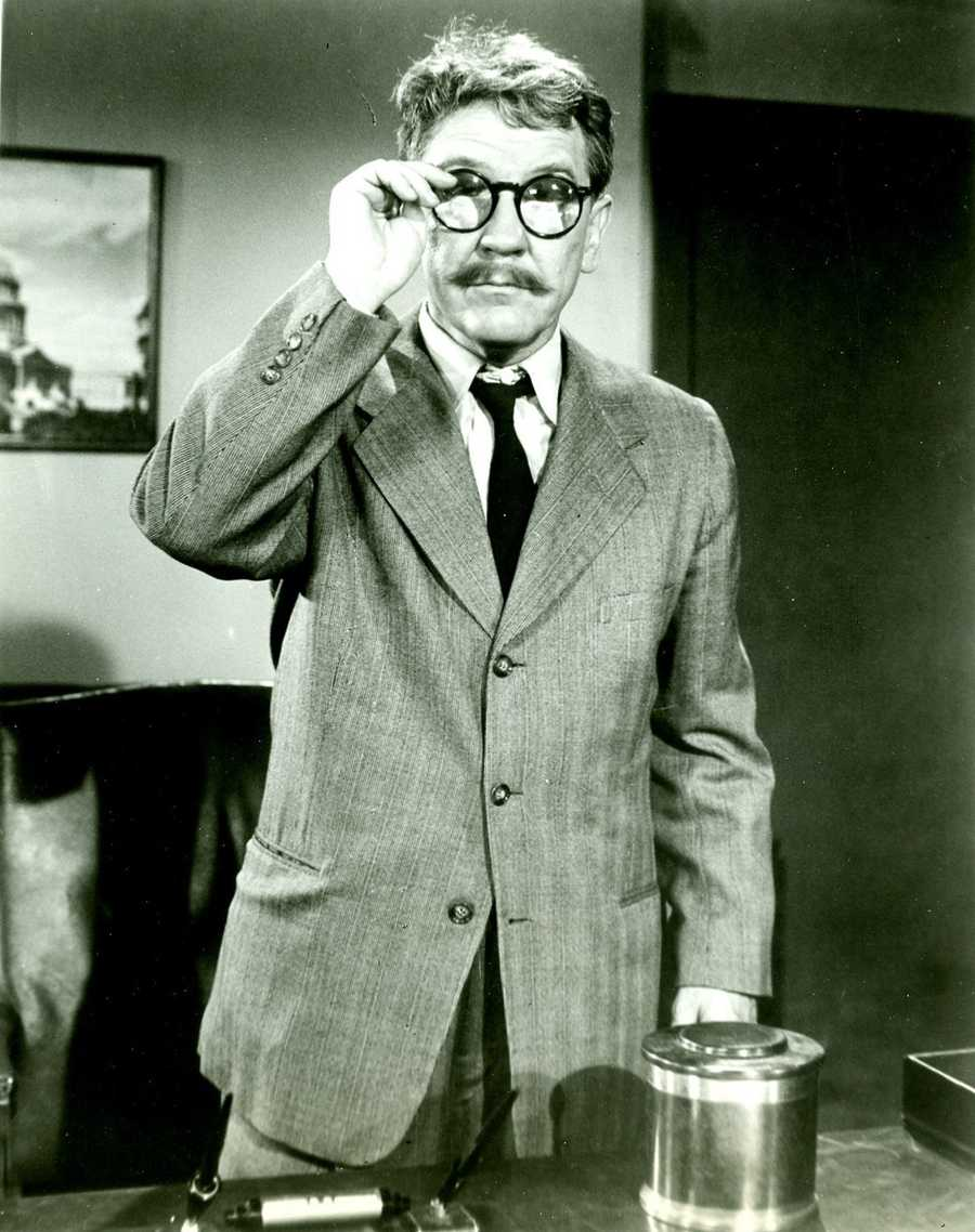 May 11: Twilight Zone DayCelebrate the strange and surreal TV series on Twilight Zone Day. Created by Rod Serling, the through-provoking show ran from 1956 to 1964.(Pictured: Burgess Meredith as Henry Bemis in season 1, episode 8 'Time Enough At Last'.)
