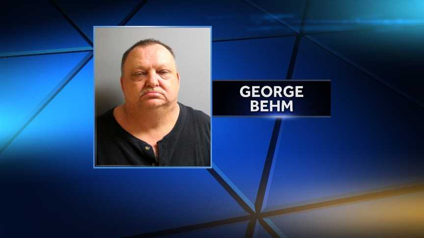 George Behm, 54, of St. Albans, was arrested May 4, 2014 by St. Albans Police on a heroin possession charge.