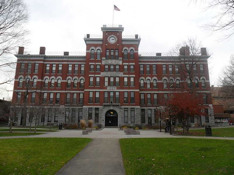 Clark University in Worcester