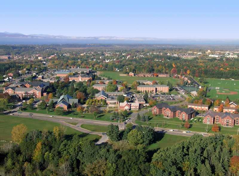 Saint Michael's College in Colchester, Vermont