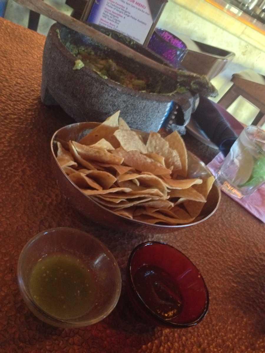 """Tostitos with Salsa and Pico De Gallo... a """"Cinco De Mayo"""" must, says associate producer Ana Skidmore."""