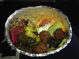 Mediterranean Platter - healthy, filling and delicious. Who knew healthy could be so tasty?, asks Ana.