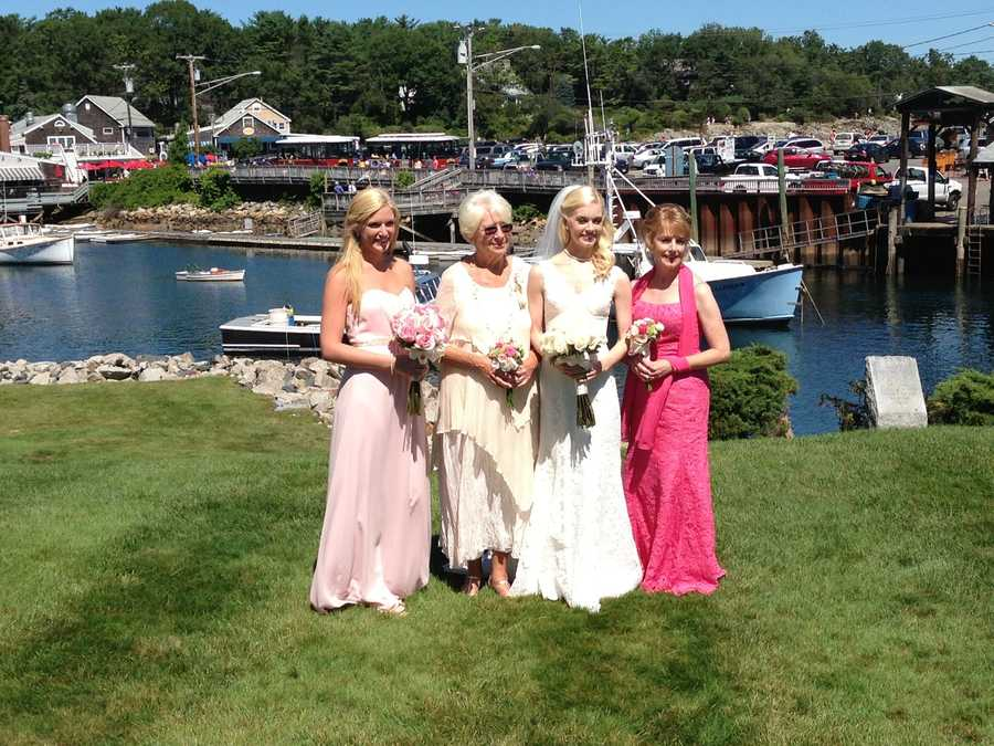 Here's a picture of me and the leading ladies in my life on my wedding day. I'm with my sister, Carolyn, Nana and Mom. I am so blessed to be surrounded by such compassionate, strong and beautiful women. I love you! - Alison Carey, reporter