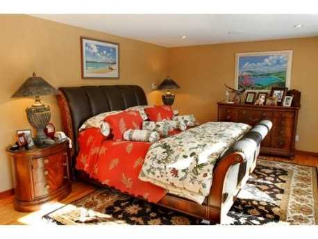 The home has five bedrooms, including a space that can be turned into a live-in suite.