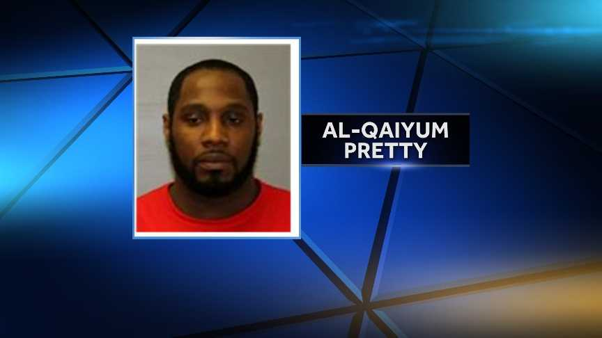 Al-Qaiyum Q. Pretty, 33, of Schuyler Falls, New York was arrested on May 13, 2014 after New York State Police say they found 490 bags of heroin in his car during a traffic stop in Plattsburgh.