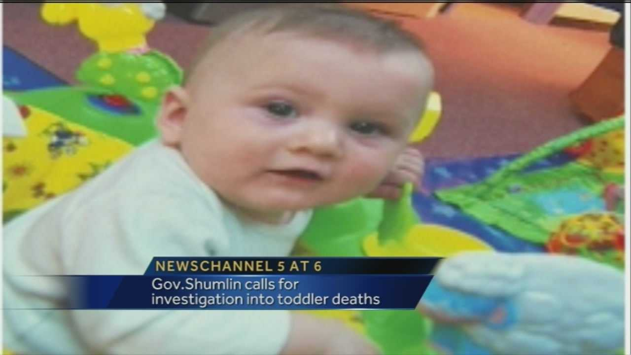 Peighton Geraw died earlier this month, and investigators have since ruled his death a homicide.  According to court paperwork, a DCF case worker visited the 14-month-old at his home about an hour before he died.