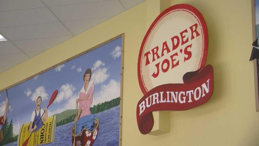 Trader Joe's Burlington.