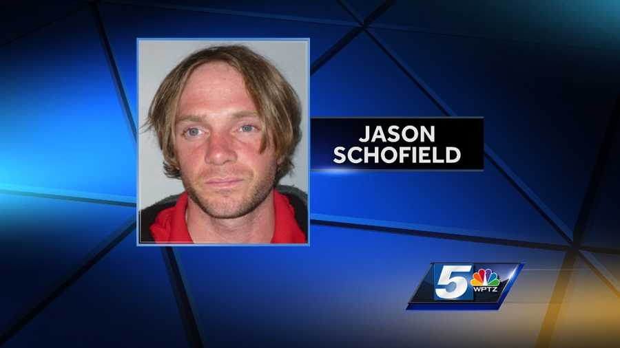 Jason Schofield arrested in May 2014 by the Vermont State Police Drug Task Force.