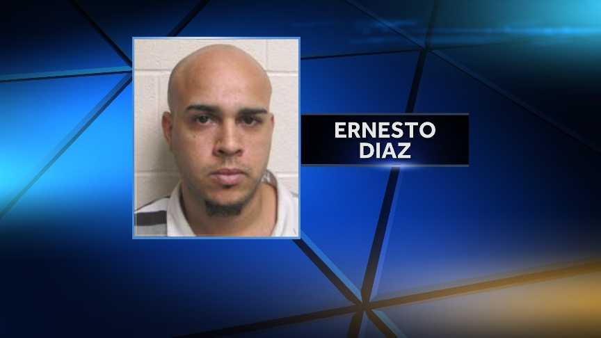 Ernestor Diaz, 30, of Westfield, Mass., is accused of distrubting heroin in Lebanon, N.H. Diaz was arrested Thursday during the execution of a search warrant by Lebanon City Police.