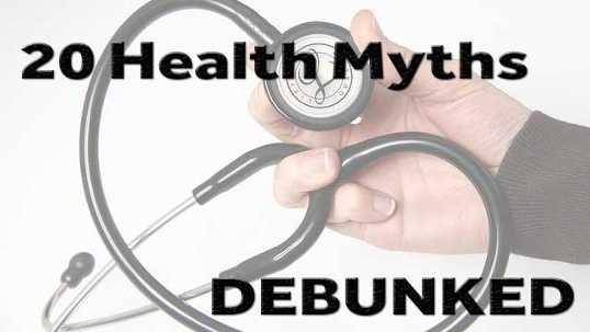 Debunked Health Myths - img